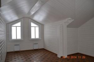 Покраска белой лазурью внутри дома