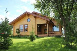 Защитное покрытие деревянного дома